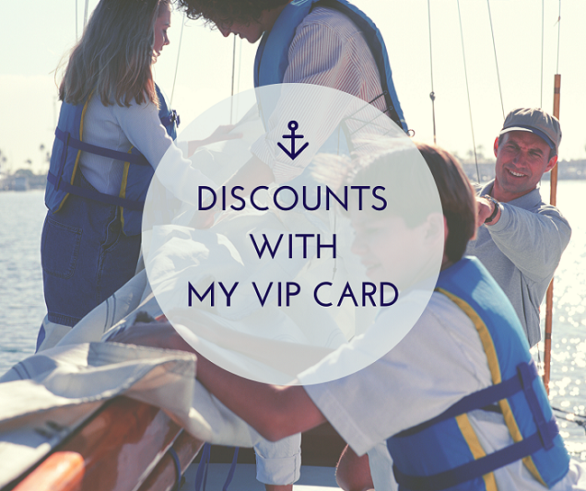 Family sailing discounts