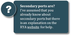 Get help with secondary ports